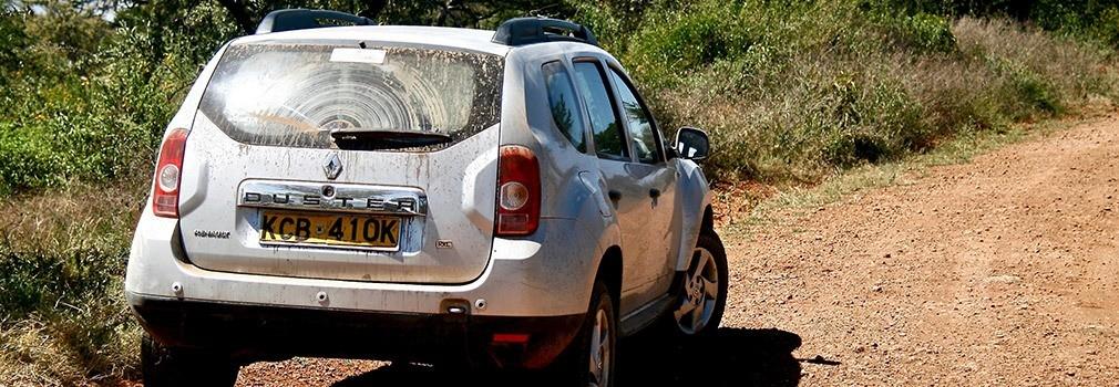 Renting a car in Kenya