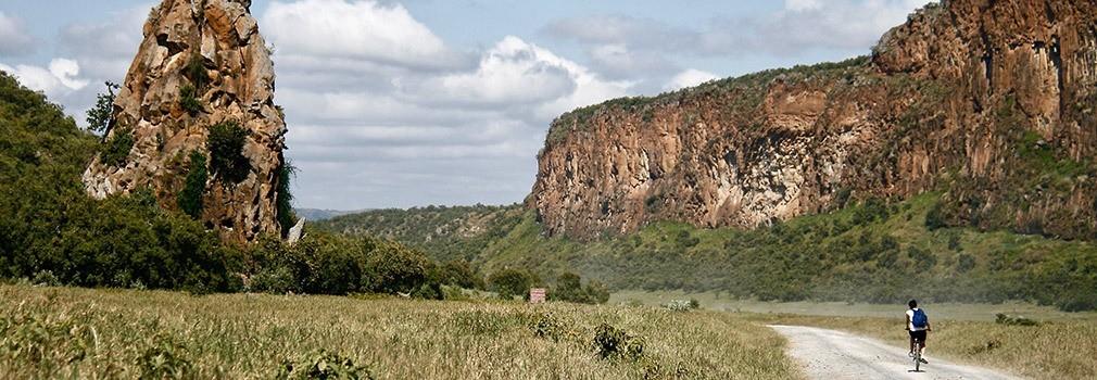 Hells Gate in Kenya
