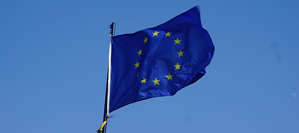The flag of the European Council and the European Union